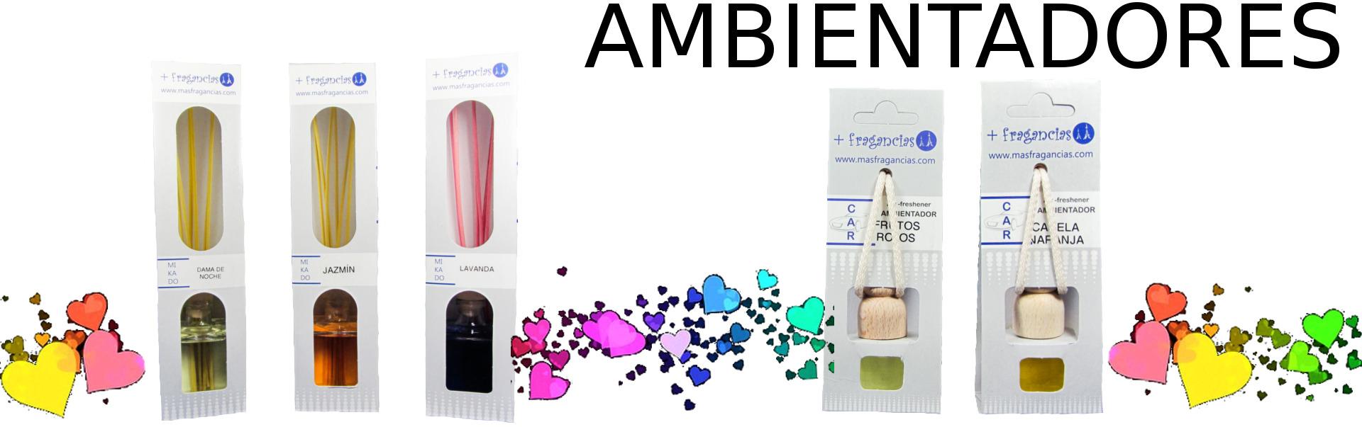 Ambientadores - mikados - sachets - aceites - aromas - esencias - colonias - perfumes baratos imitación